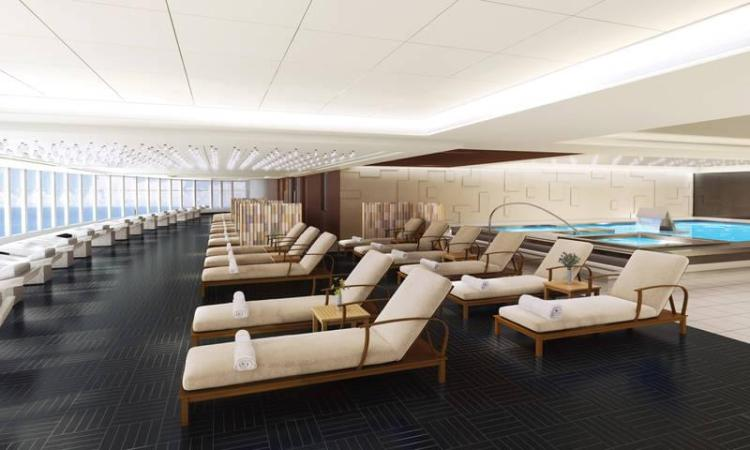 Thermal Suite on the Norwegian Bliss
