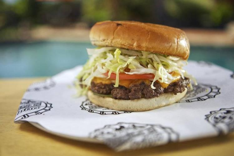 Carnival Cruise Line Guy's Burger Joint Burger