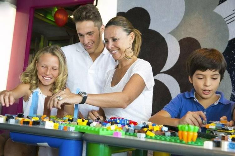 Lego Experience on MSC Cruises
