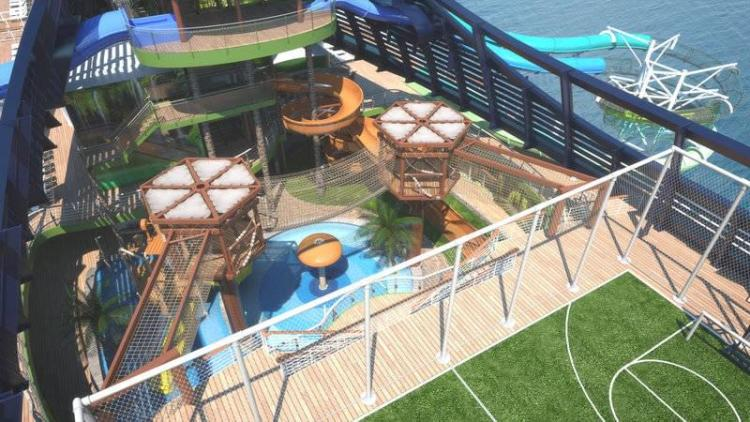MSC Seaside Aquadventure Park