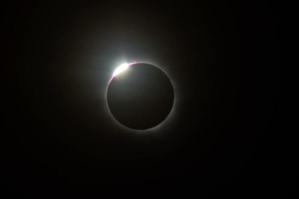 'Wedding ring' totality