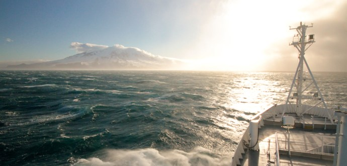 Amazing sights in the Southern Ocean
