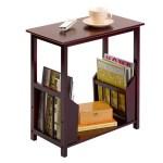 ODKLÁDACÍ STOLEČEK na kávu a časopisy se hodí k příjemnému posezení i do nejmenšího prostoru.