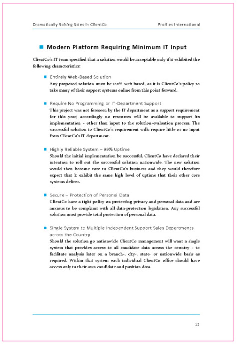 BUSINESS PROPOSAL TEMPLATES – Policy Proposal Template