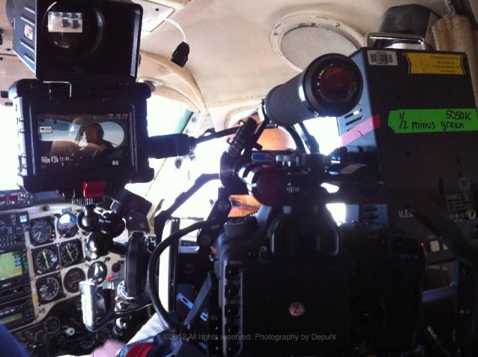 Interview setup in King Cockpit horz