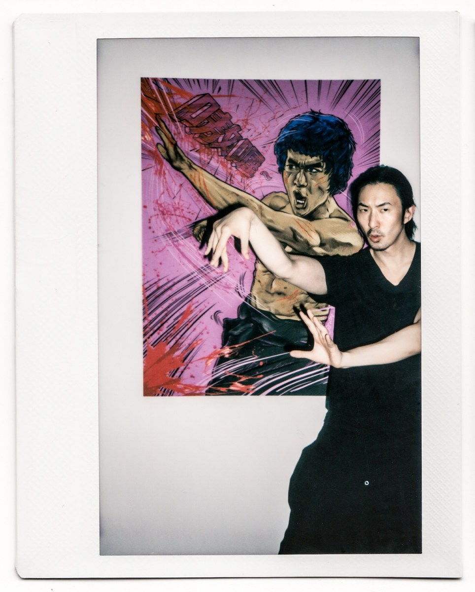 Polaroid Fuji Jason exhibition olivier hero dressen M50 Undefine Galery