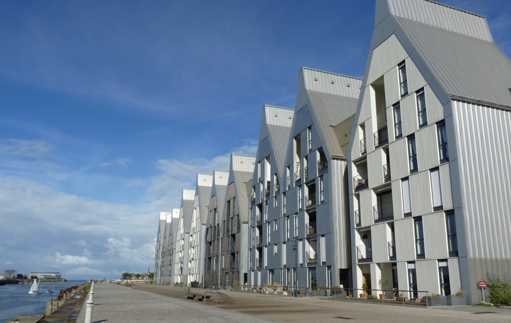 Dunkirk port - modern architecture
