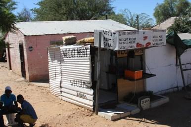 Metzgerei in Namibia