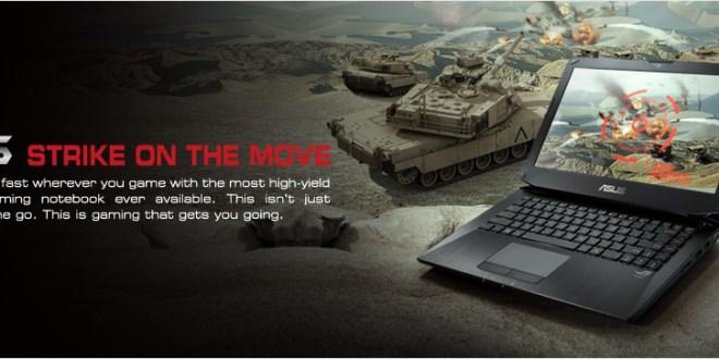 Asus G46VW Republic of Gamers Menawarkan Solusi Tepat untuk Gamer