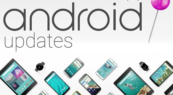 Smartphone yang Update Android Lollipop