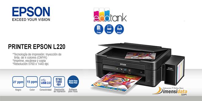 spesifikasi printer epson l220 dan harga terbaru 2016