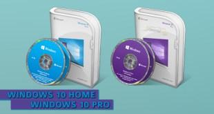 Perbedaan Antara Windows 10 Home dan Windows 10 Pro