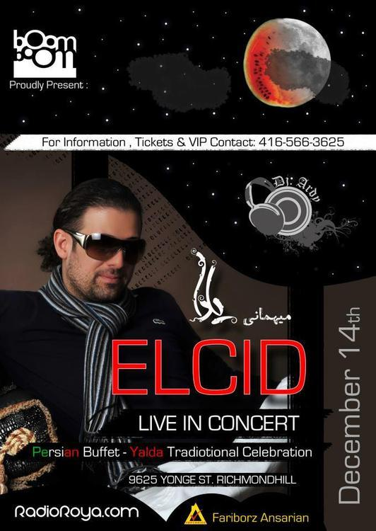 Eclid concert toronto persian party