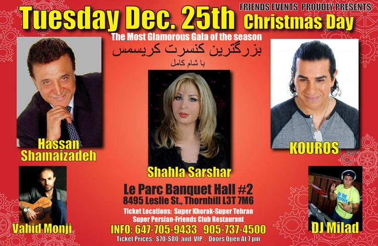 persian concert toronto 2012