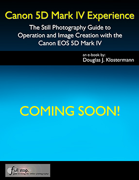 Canon 5D Mark IV Experience book manual guide