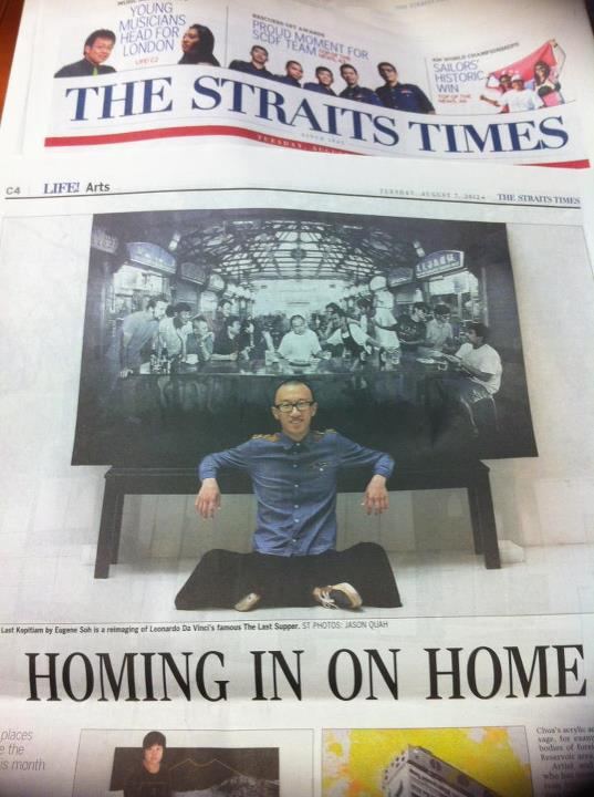 The Last Kopitiam featured in the Straits Times