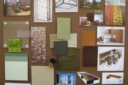 duong designs » office concept floorplan & material board