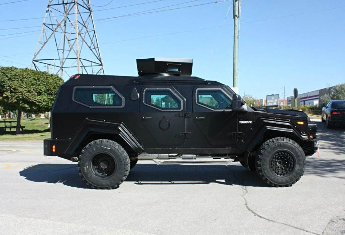 The Terradyne Gurkha A Street Legal Tactical Vehicle
