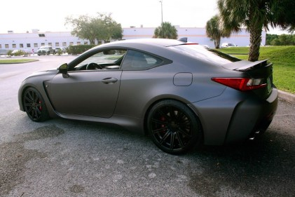 Matte Grey Custom 2015 Lexus Rc F At Lexus Tampa Bay