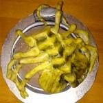 Facehugger alien cake