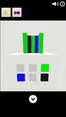 Th 脱出ゲーム Cubes   攻略と解き方 ネタバレ注意 1153