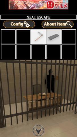 Th 脱出ゲーム 牢屋からの脱出  攻略と解き方 ネタバレ注意  8