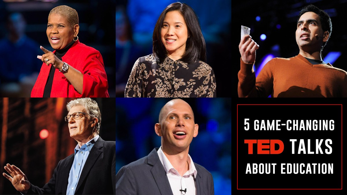 5 game-changing TED Talks about education