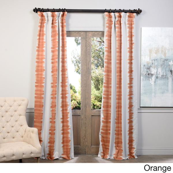 striped pattern curtains