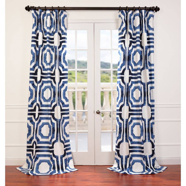 patterned curtains at overstock
