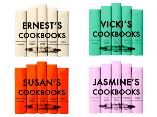 personalized cookbook collection