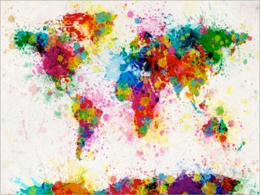 paint splashes map