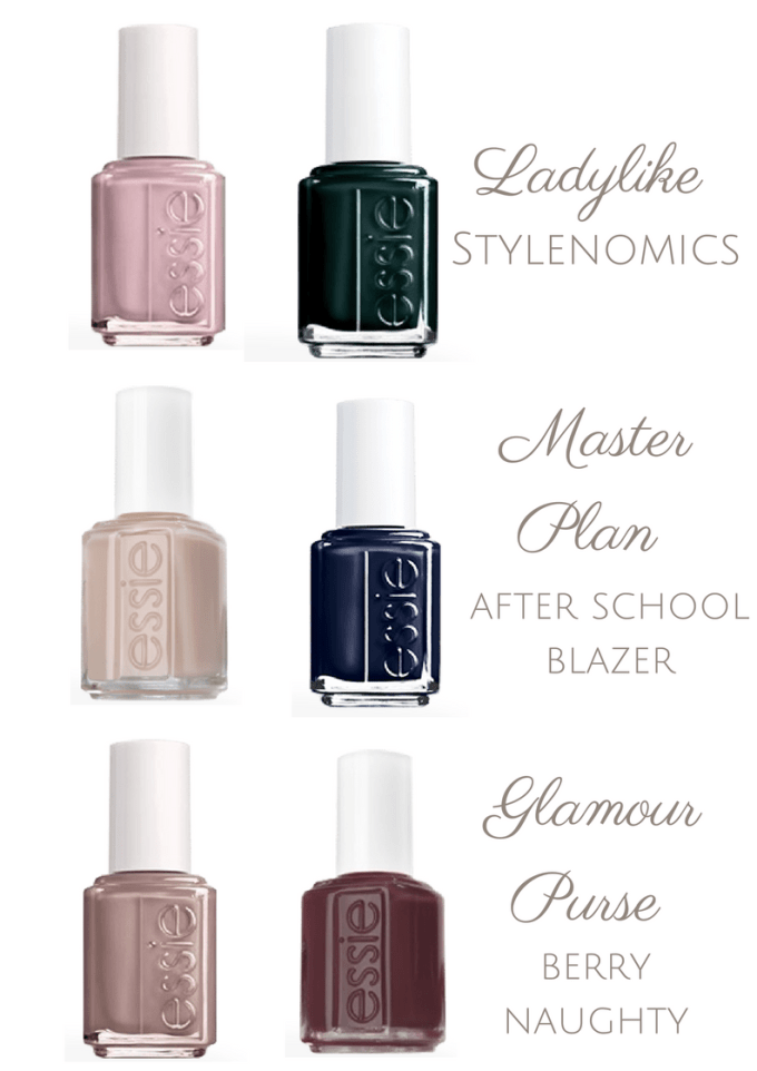 french manicure polish combinations