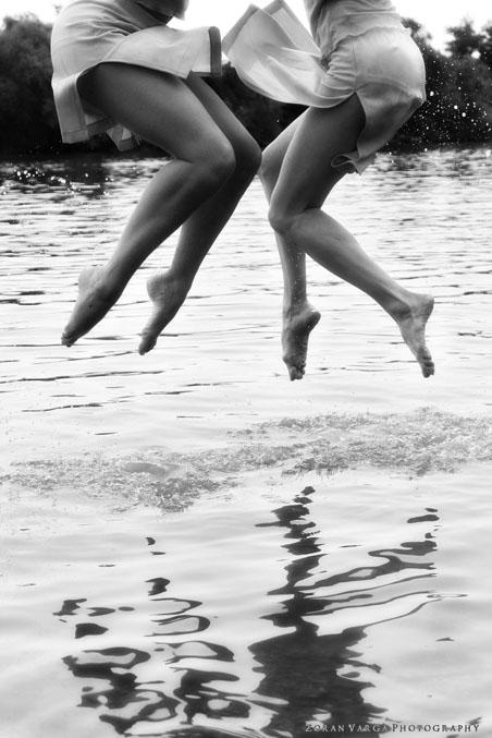 jumpingintowater