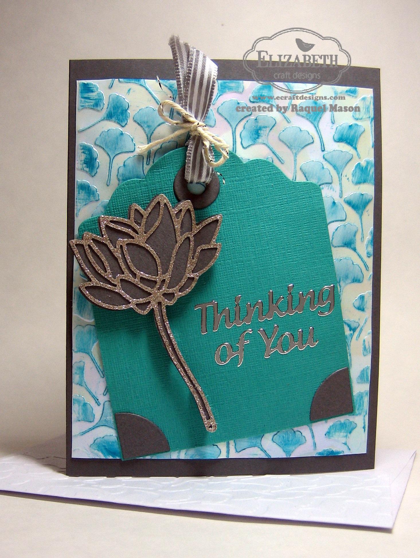 Glitter lotus flower for Elizabeth craft designs glitter