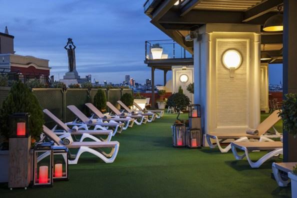 El Roof Garden cuenta con diferentes espacios para tu evento