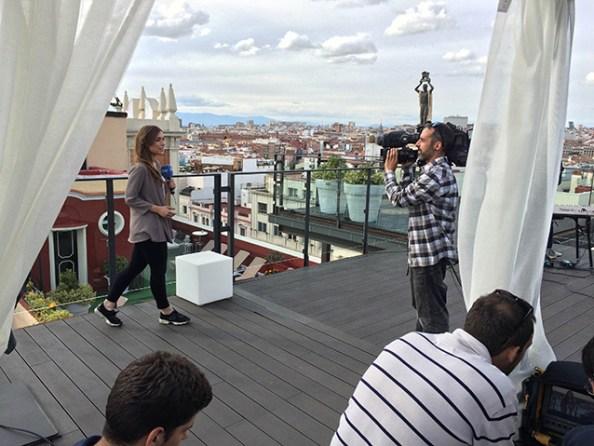 Los Secretos en el Hotel Emperador Madrid