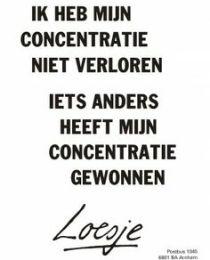 concentratie 1