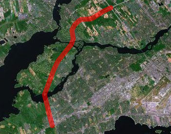 440 link to the West Island