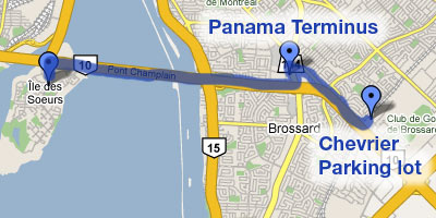 New AMT route from Brossard to Nuns\' Island