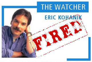 Erik Kohanik and the disappearing TV column