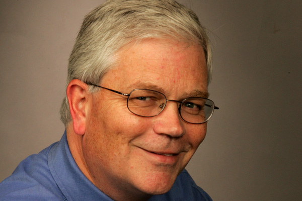 Gazette editor-in-chief Andrew Phillips in a 2005 photo by Richard Arless.