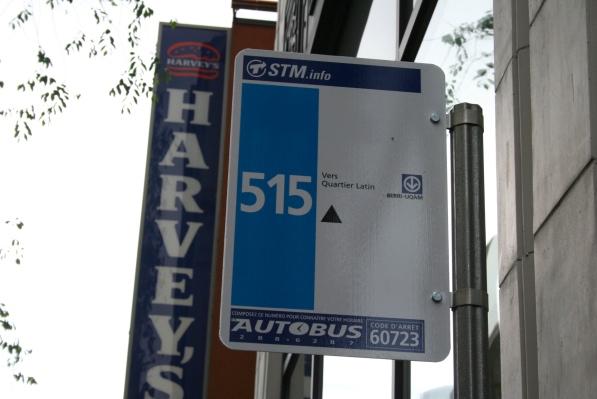 Blue 515 stop