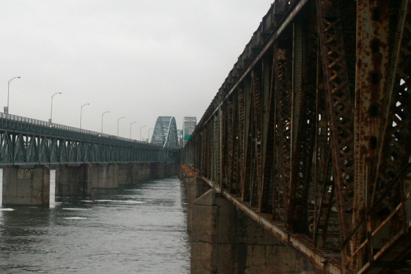 The rusted Mercier Bridge is in dire need of replacement