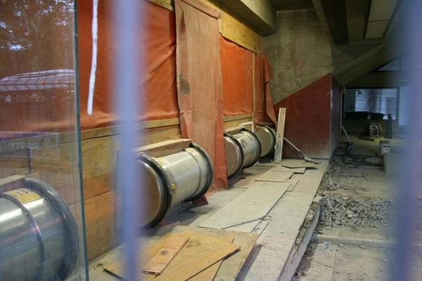 Before: Escalators