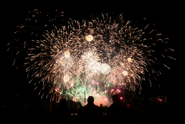 Australian fireworks on July 4