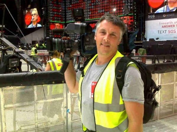 CTV cameraman Hugh Haugland (photo from his Facebook page)