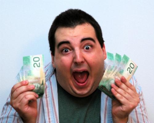 I got so much money, I'm giving it awaaaaaaaay!