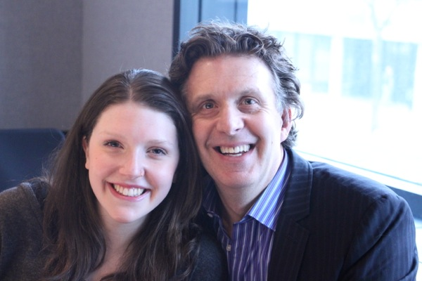 Andrew Carter with daughter Michelle
