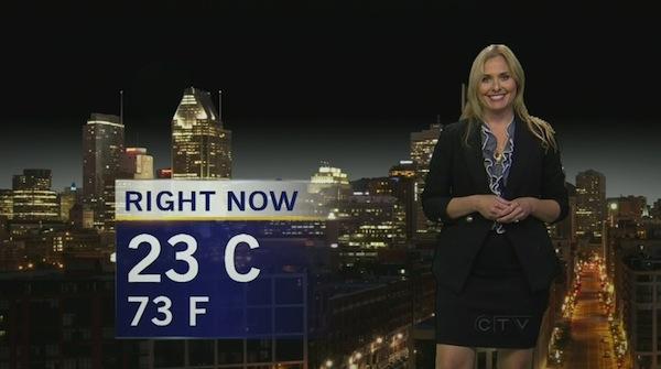 Andrea Collins CTV weather
