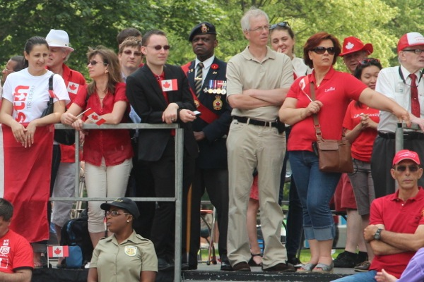 Stéphane Dion at Canada Day parade